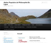 Atelier Populaire de Philosophie En Ligne