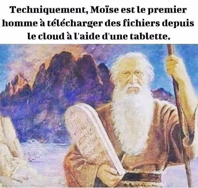 Moïse et le cloud