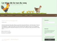 Le blog de la rue du coq